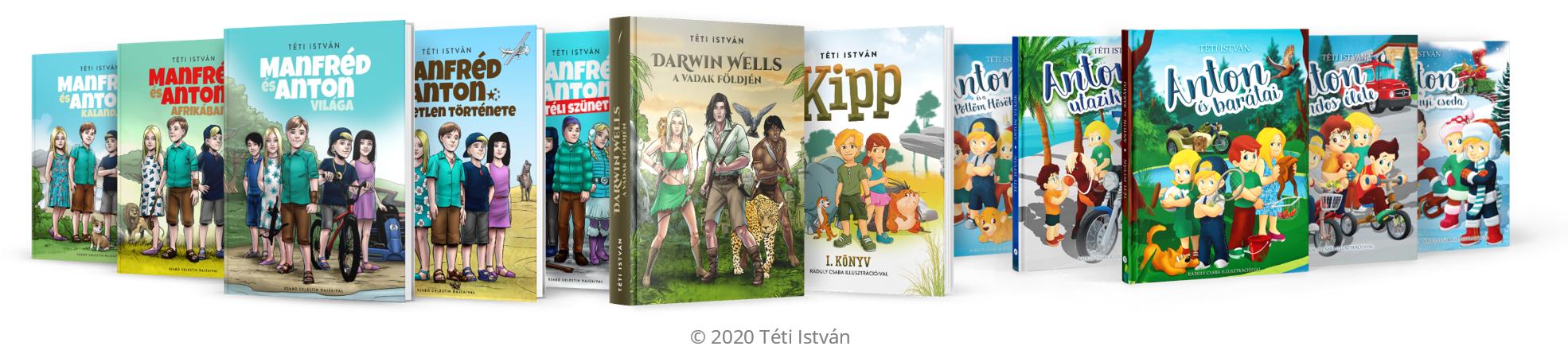 Téti István könyvei 2020
