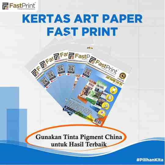 kertas art paper, art paper, kertas art paper fast print