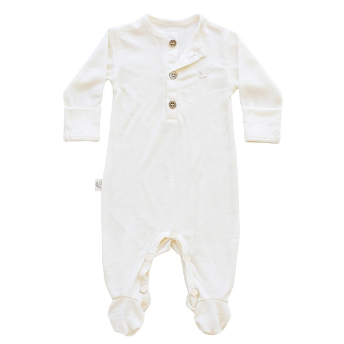 organic merino jumpsuit romper onesie to wear as second layer