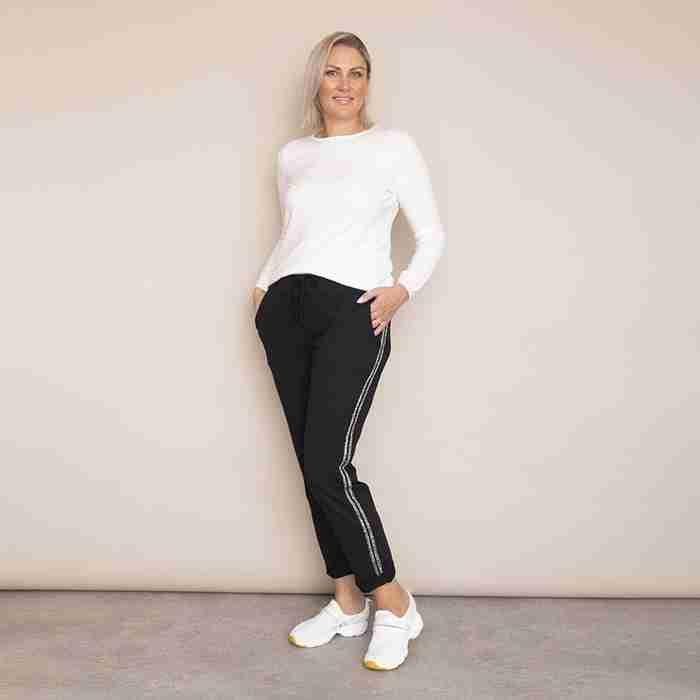 Ciara Joggers - Plus Size (Black)