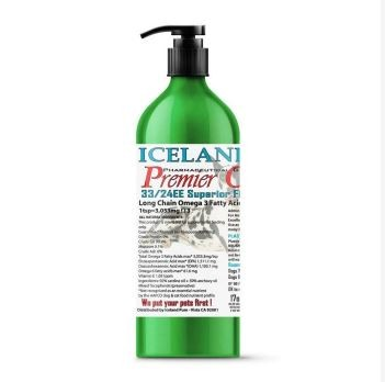 Iceland Premier Omega Fish Anchovy omega 3 oil