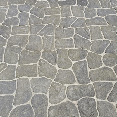 Natural gray pavers