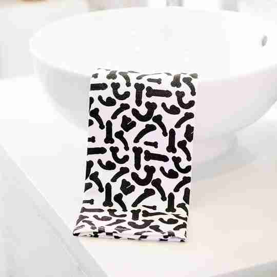 Penis Pattern Terry Towels | Twisted Wares®