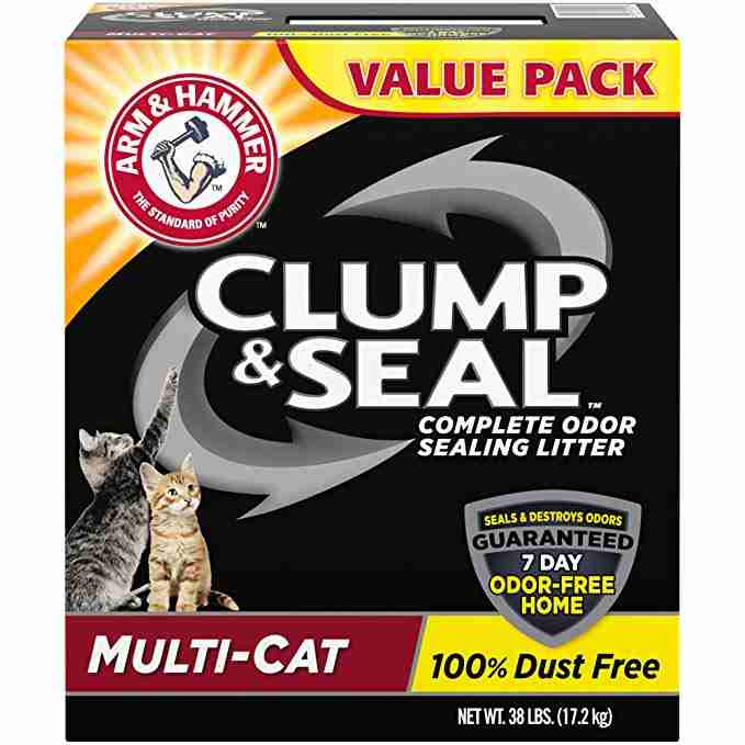 Clump And Seal Multi Cat Litter