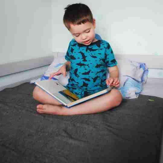 PeapodMats Grey Waterproof Mat - Washable Bed Pads