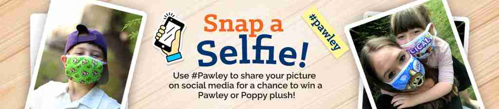 Pawley Poppy Face Mask Contest
