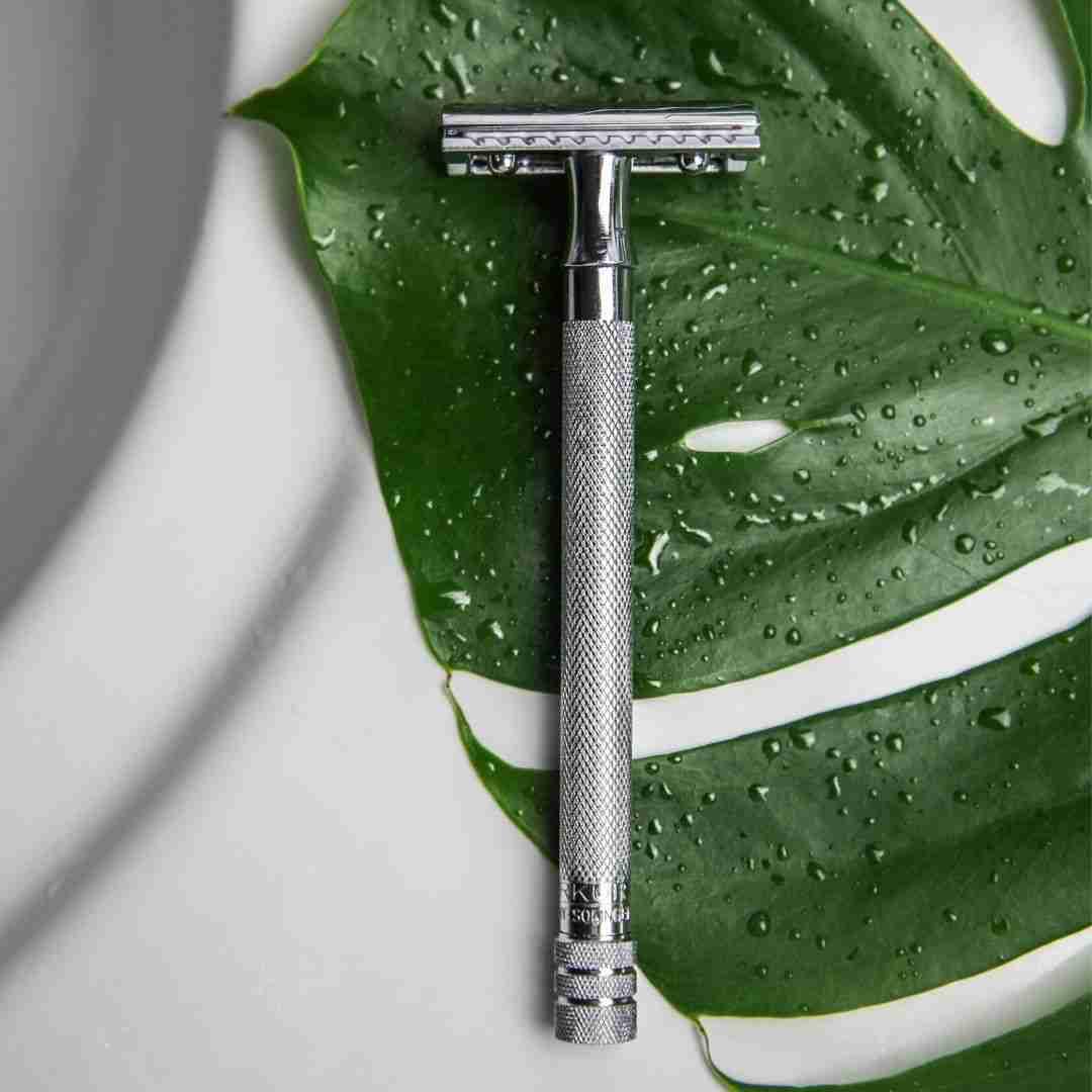 YIONN Silver Edition Single-blade scheermes speciaal voor vrouwen