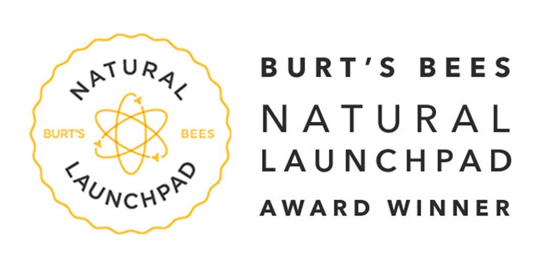 Burts bees natural launchpad award