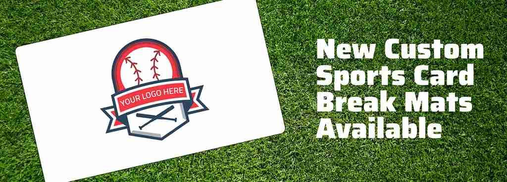 New Custom Sports Card Break Mats Available