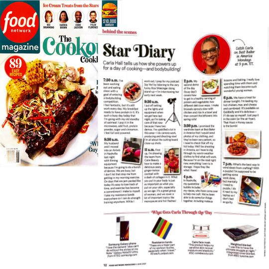 Food Network Magazine | Caire Beauty