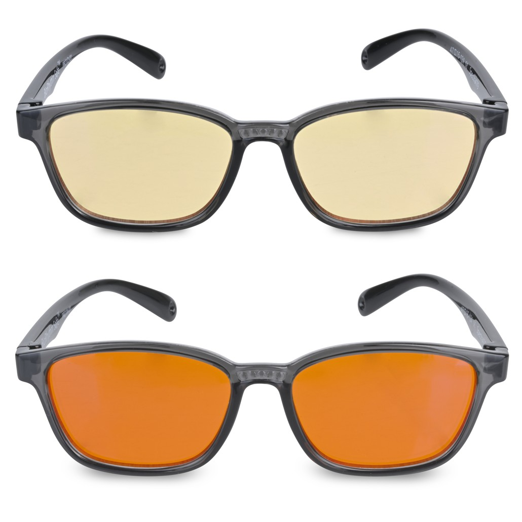 Kids Nighttime and Daytime Blue Blocking Glasses - Combo Pack