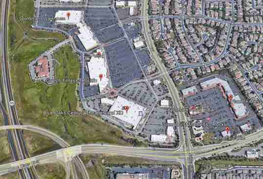 Sleep First Blue Oaks Rocklin CA Map