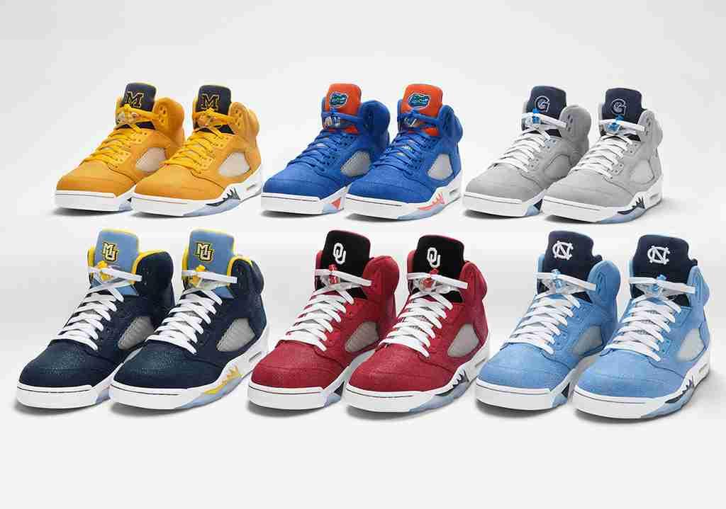 Air Jordan 5 NCAA PEs