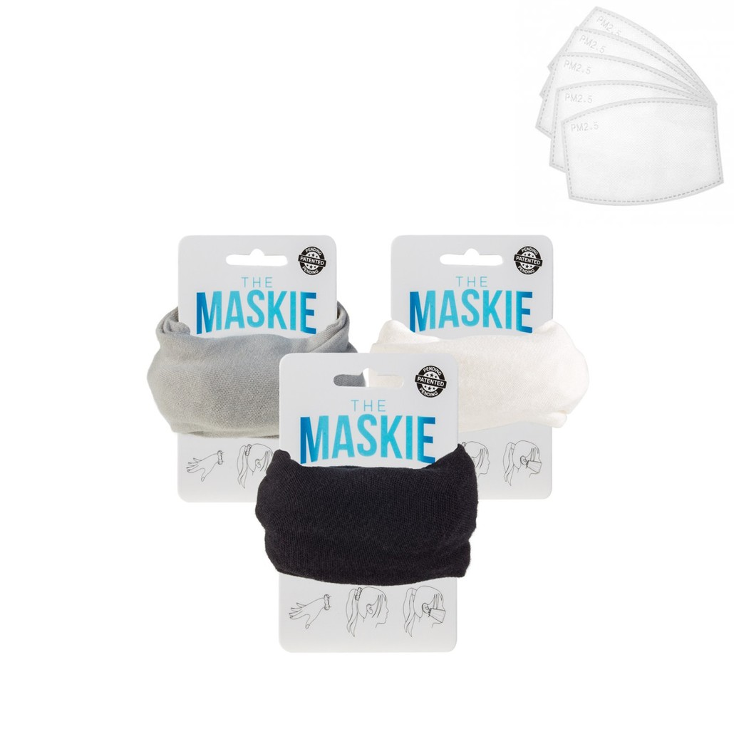 The Maskie Filtered 3 Pack