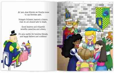 Scraggle Princess Internal Book Page
