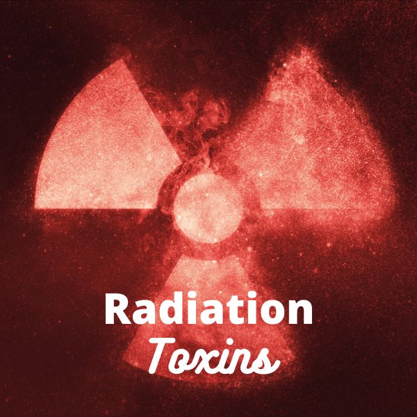 Toxins from radiation