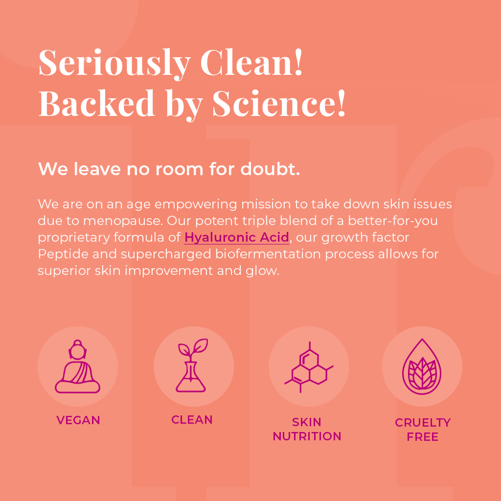 Seriously Clean and backed by science