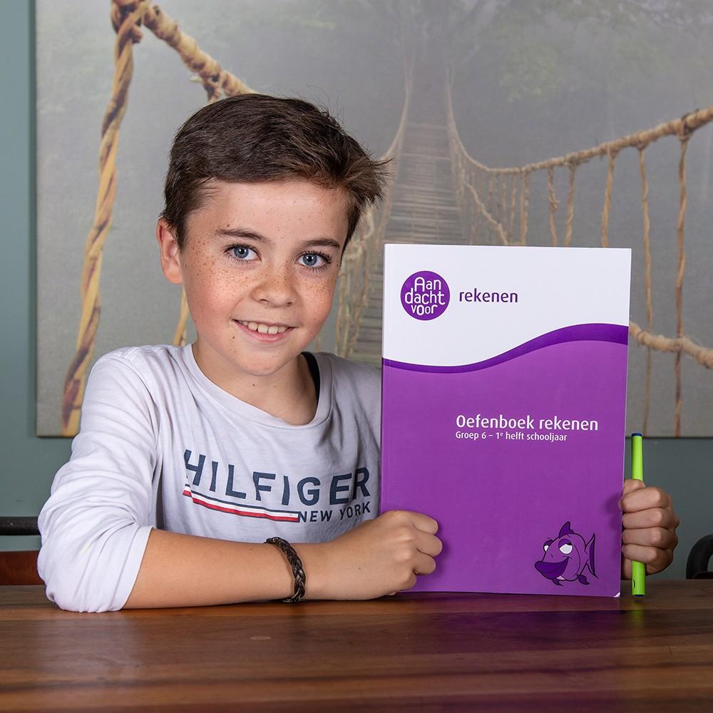 jongen oefenboek groep 6 deel 1