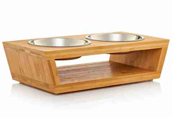 4in elevated pet feeder