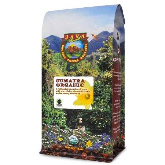 best coffee dark roast organic Sumatra coffee fair trade
