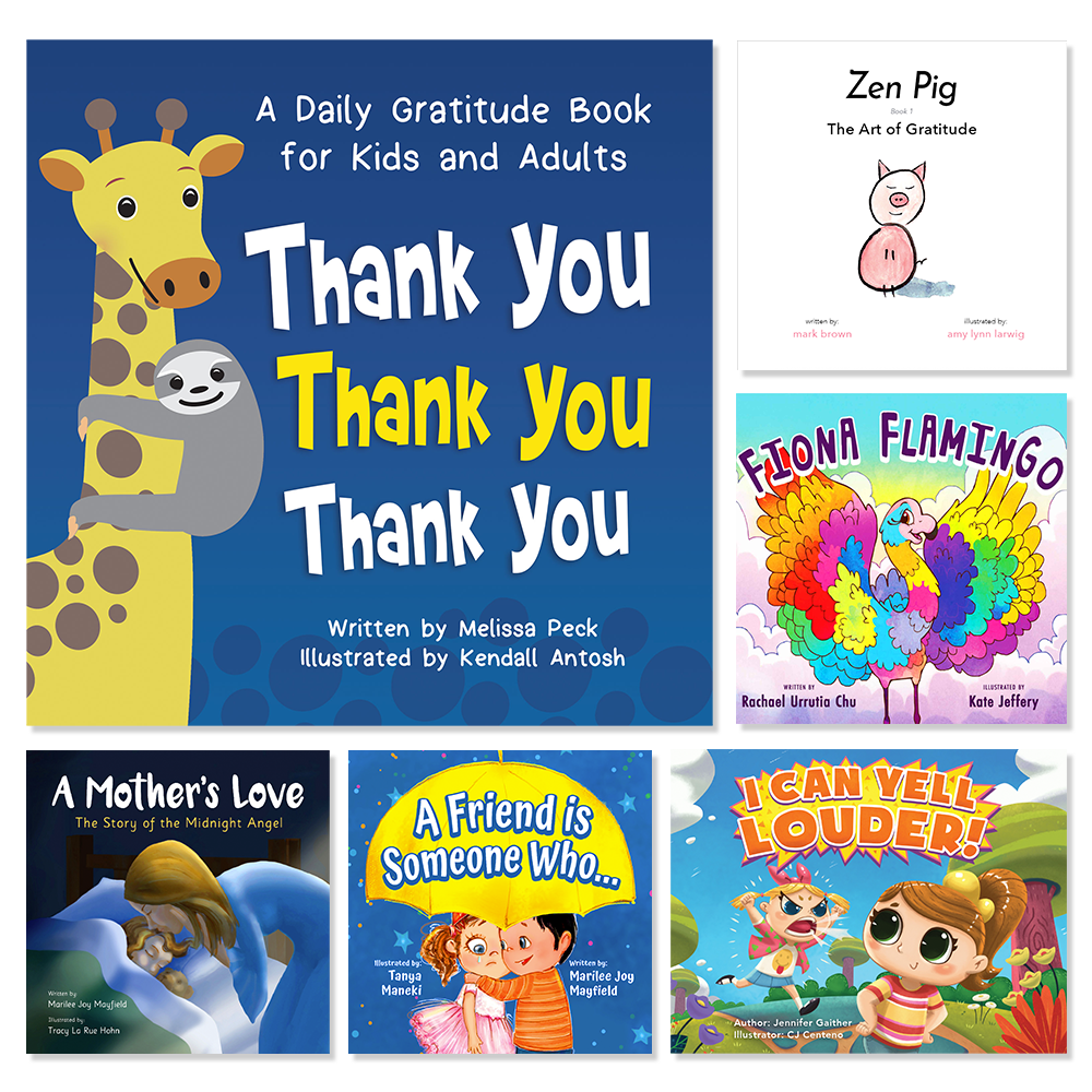 The Gratitude Bundle (6 Books)