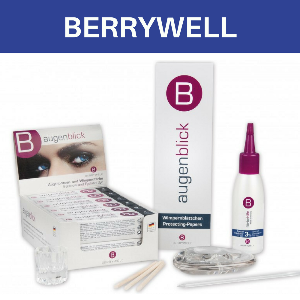 Berrywell augenblick eyebrow and eyelash tint