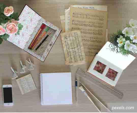 pendamping suka duka, jurnal harian, jurnal scrapbook