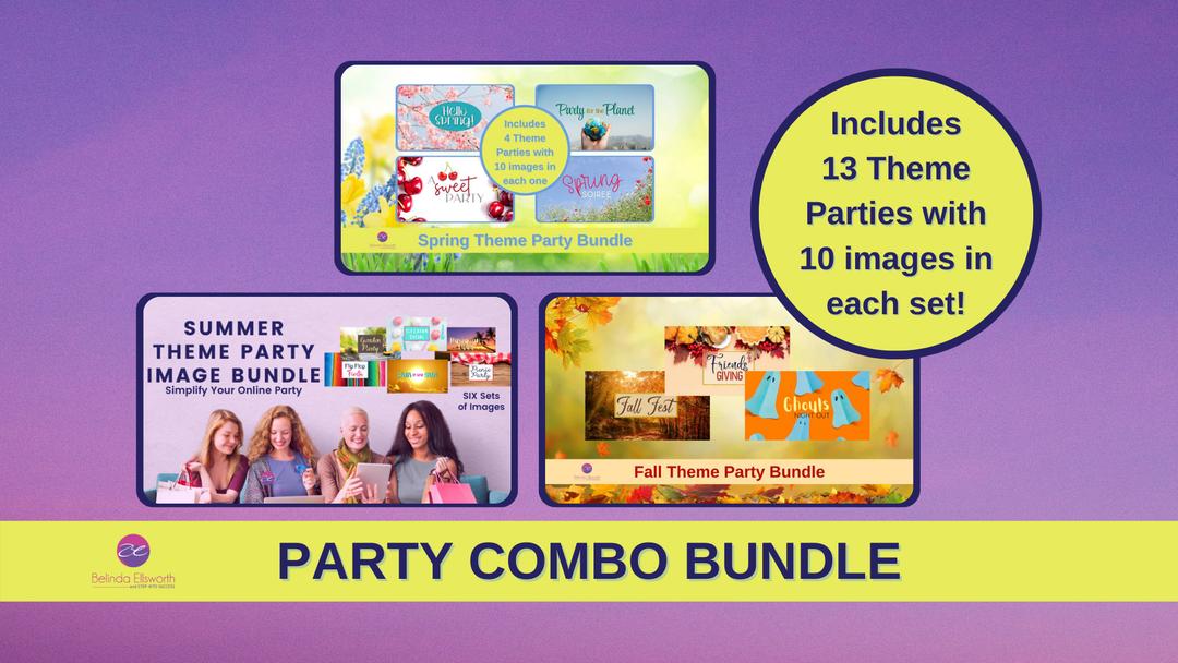 Facebook Theme Party Bundle