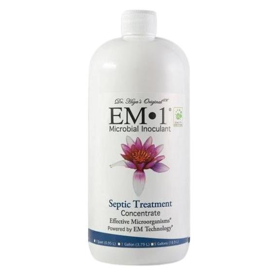 EM-1 Treatment for Septic Tanks