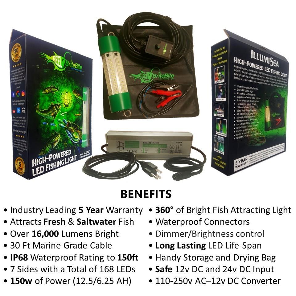 led fishing lights benefits