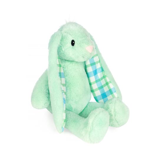 Green 14 inch Plush Bunny