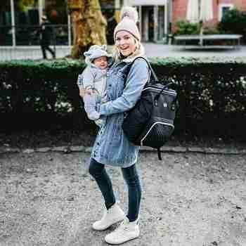 Eerste keer reizen met je baby - NanaBeebi.nl - NanaBeebi - Nanabeebi luiertas rugzak - luiertas