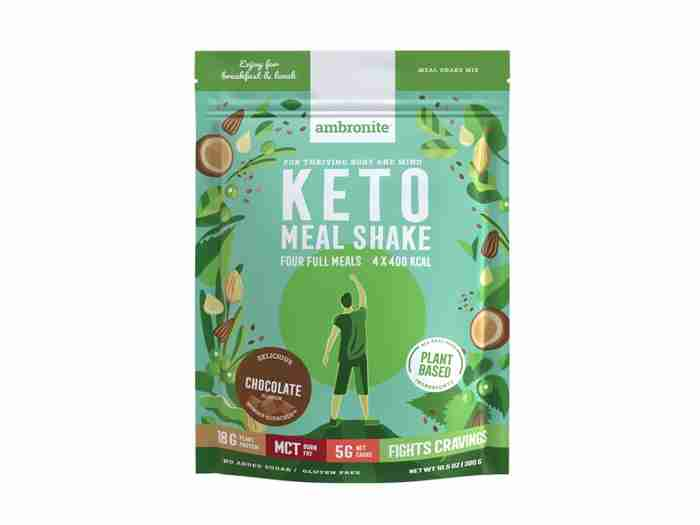 Keto Meal Shake Iso Pussi