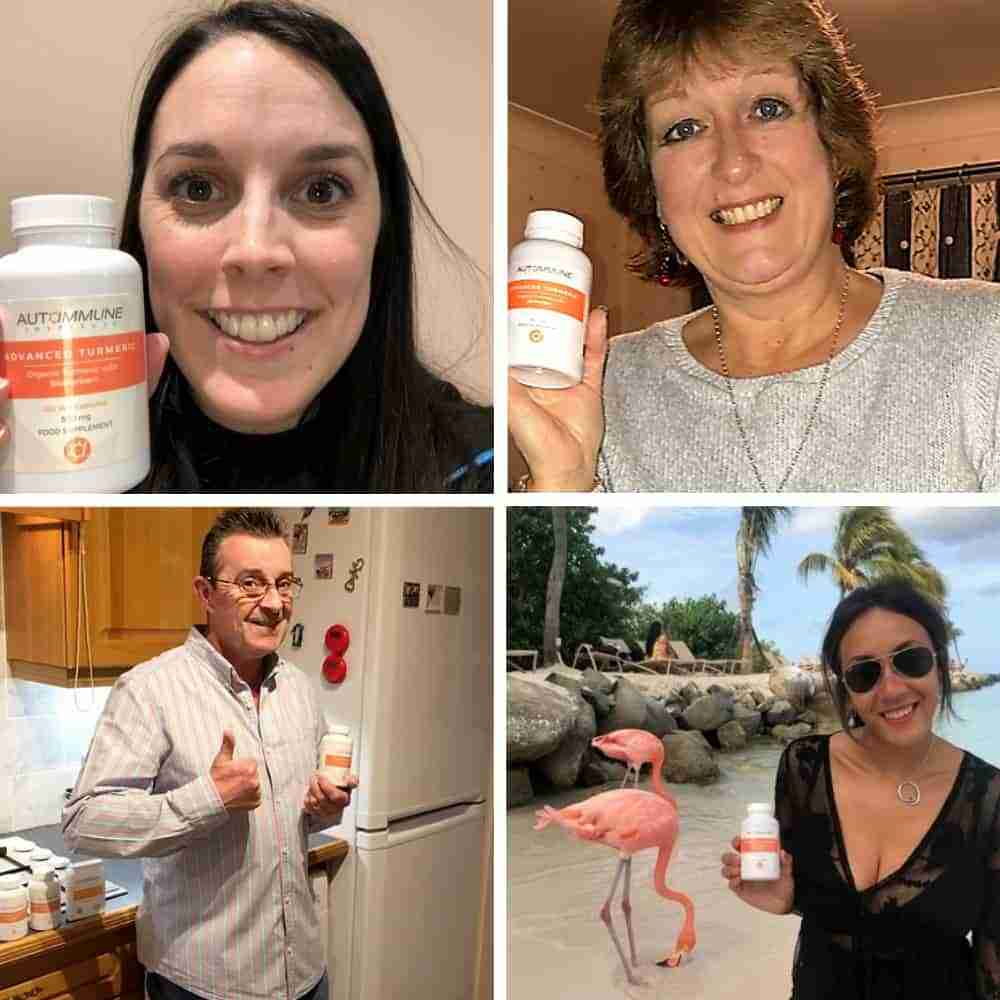 Advanced Turmeric Customer Pictures