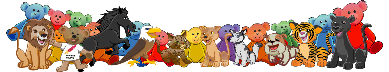 A Line of Wholesale Stuffed Animals