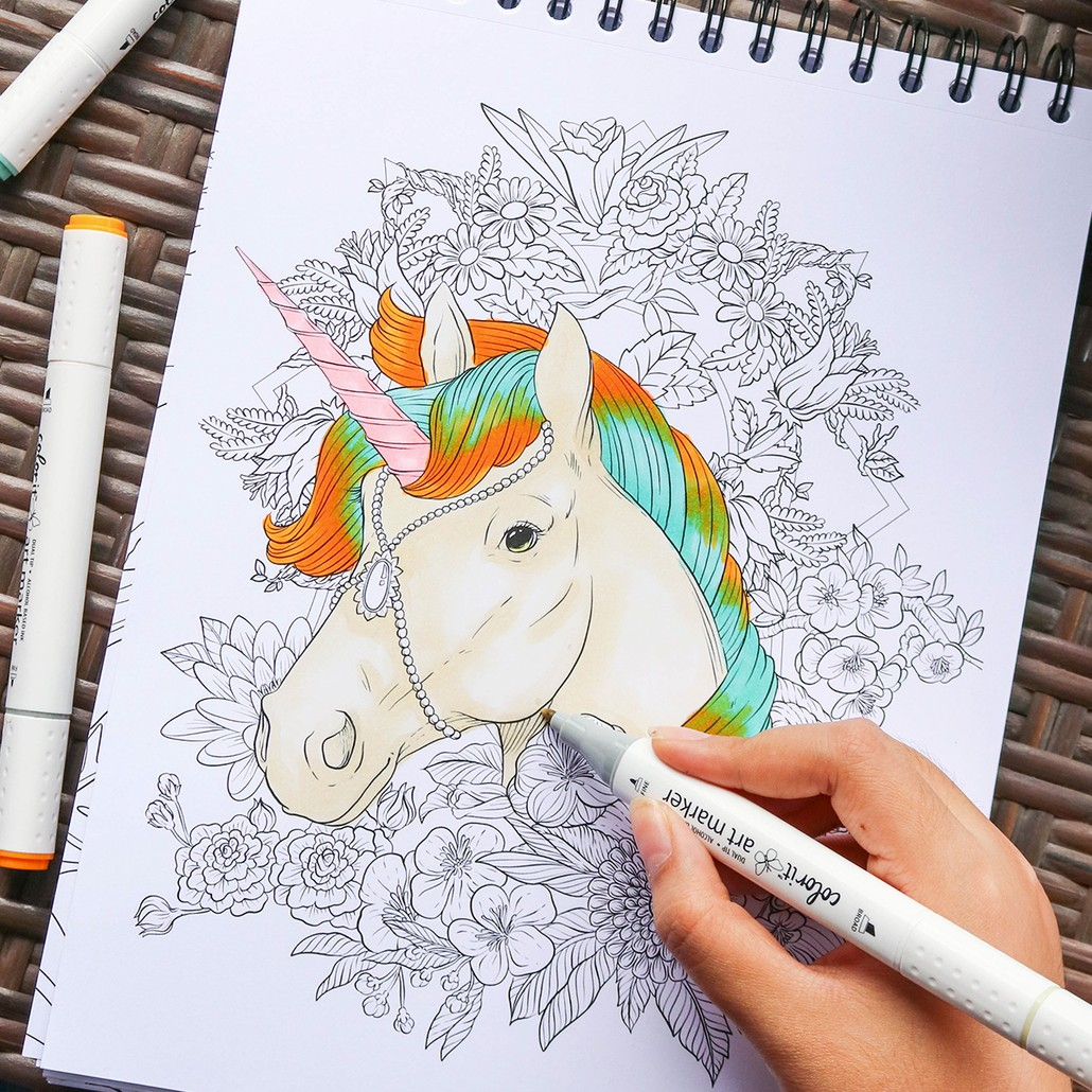 Colorful Unicorns
