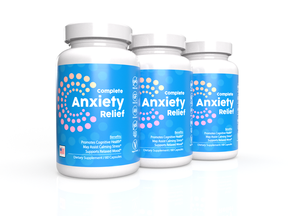 3-Pack: Complete Anti-Anxiety Formula