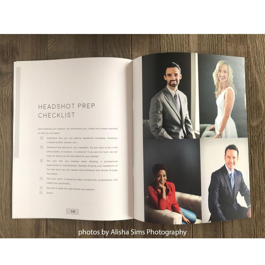 Headshot Photography Marketing Template