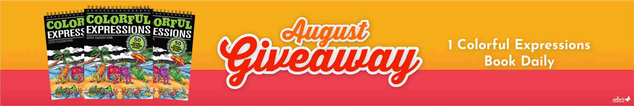 ColorIt August 2020 Giveaway