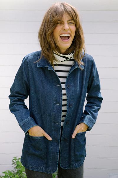 Spring Capsule Wardrobe | Chore Jacket