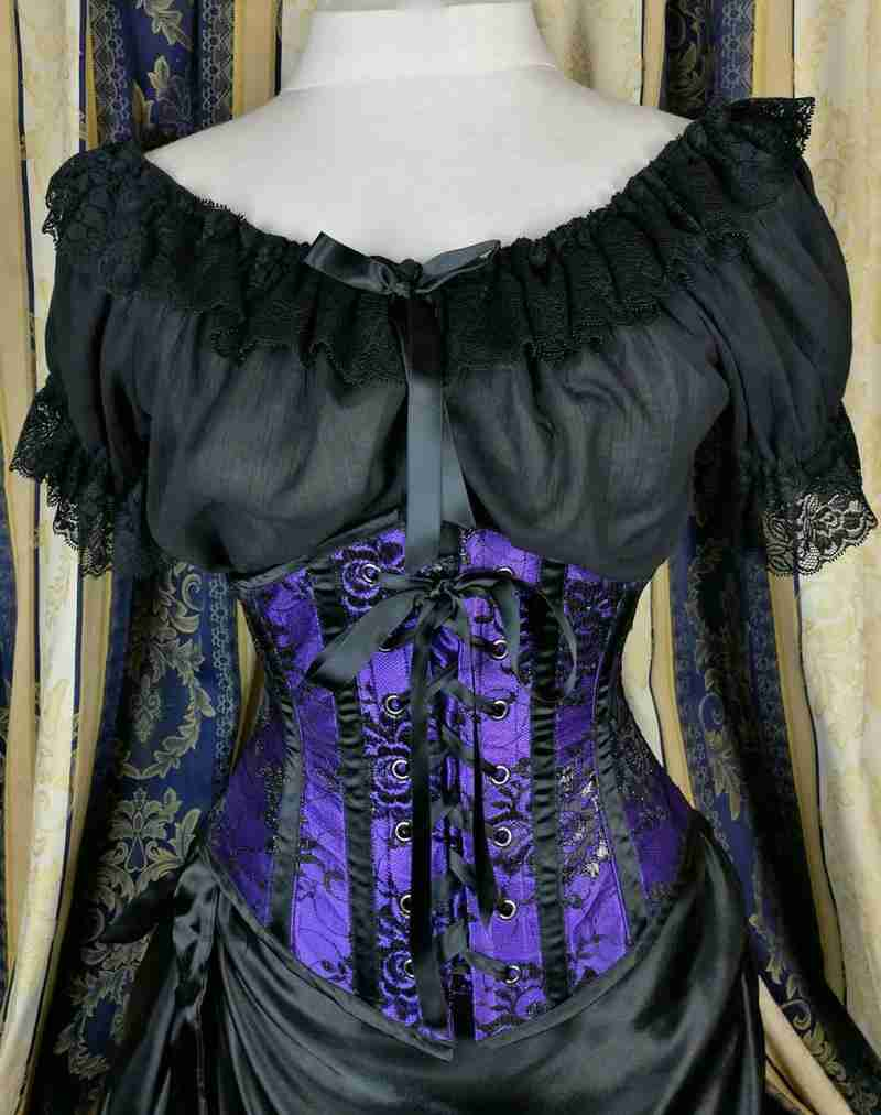 email subscribers will get a black cheesecloth Alice in Wonderland Chemise shown in image