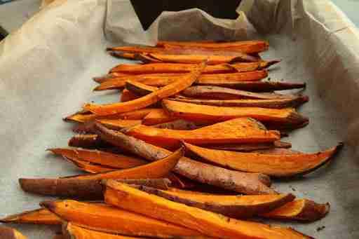 sweet potato fries complex carbs