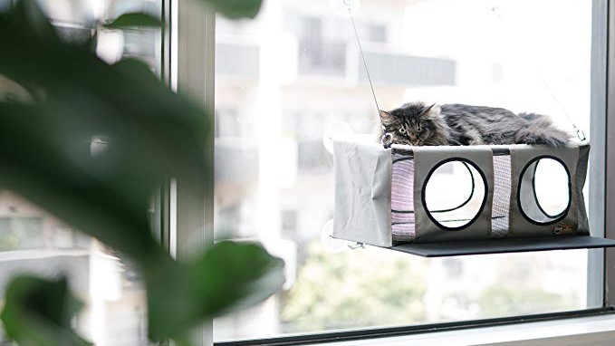 K&H EZ MOUNT PENTHOUSE KITTY SILL