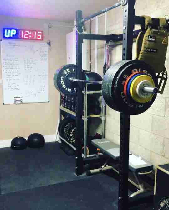 This week's epic Wolverson Fitness home gym setup is courtesy of Dom Brown