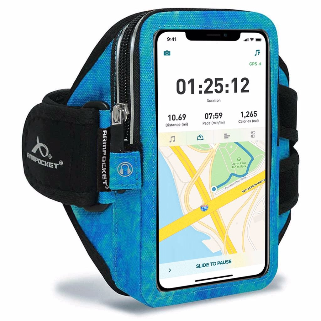 Armpocket Mega i-40 iPhone Running Case for Phone 12/12 Pro/SE 2020/11/11 Pro, Galaxy Note 10/S21/S20 & More
