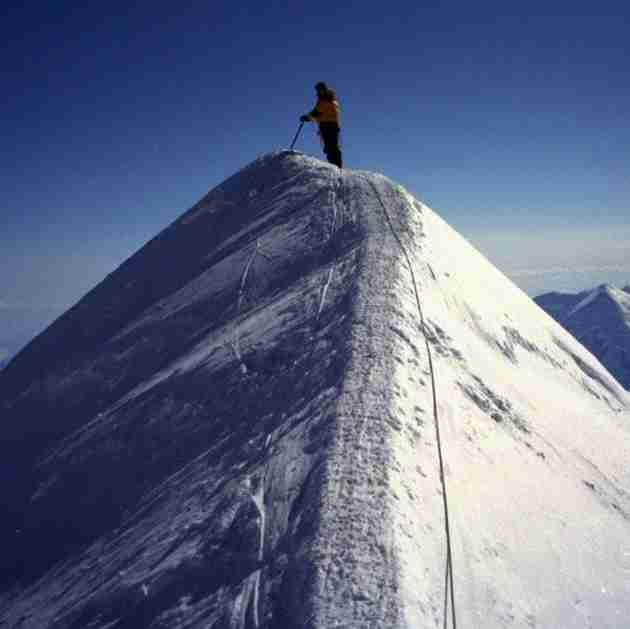 Mt. McKinley (Denali) Alaska — 20,308 feet
