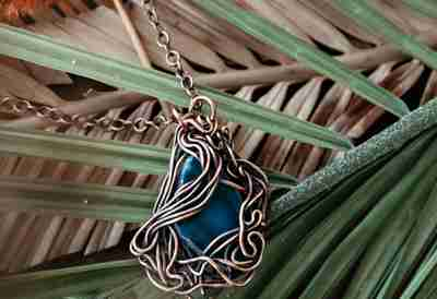 Pendant Necklace creations from Junebug Jewelry Designs