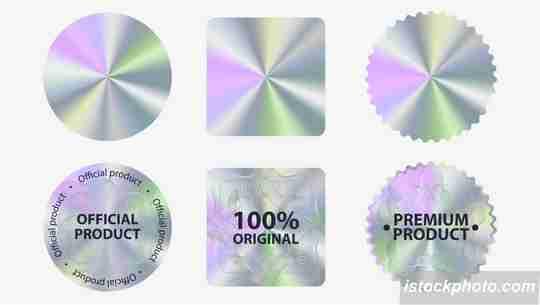 kode keamanan dokumen, stiker hologram, stiker segel hologram