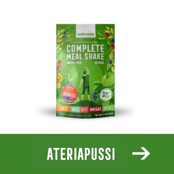 Complete Meal Shake ateriapussi