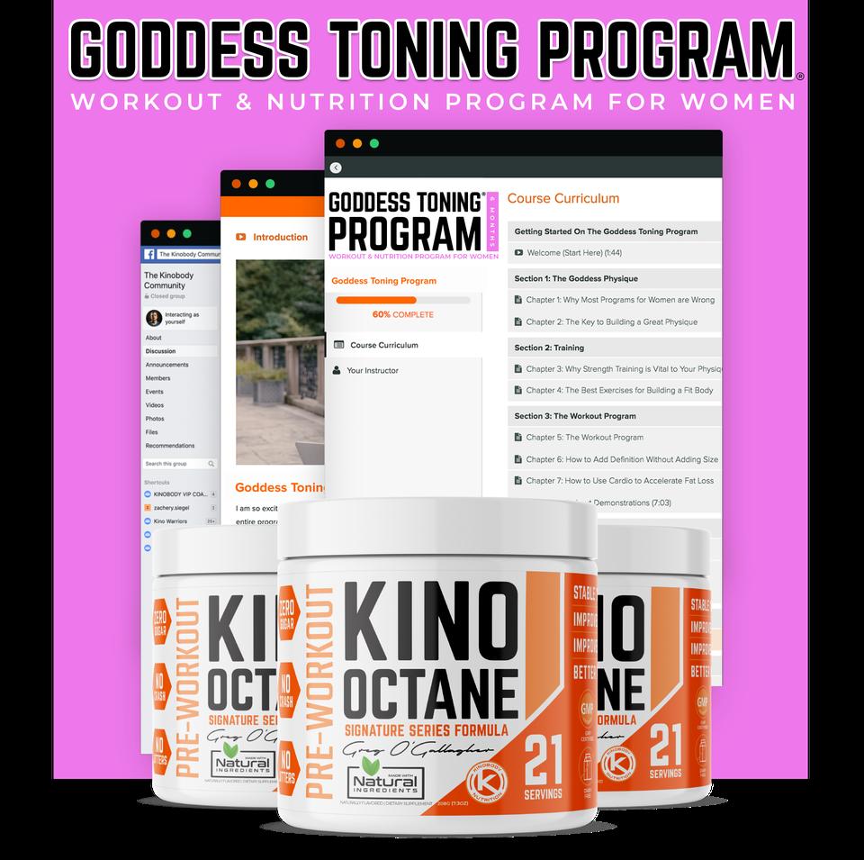 Goddess Toning Program and 3 Octane